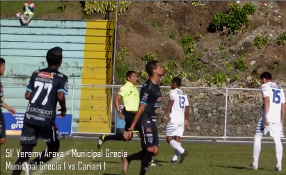 Municipal Grecia 2  vs Cariari 2 (Video)